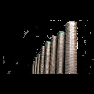 pręty PRĘT GWINTOWANY ze stali nierdzewnej A2