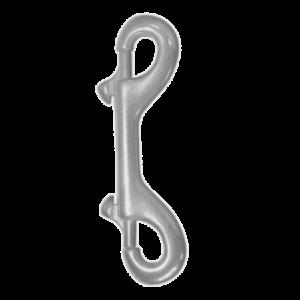 KARABIŃCZYK PODWÓJNY A4 A4 STAL NIERDZEWNA A2, STAL KWASOODPORNA A4 ŻEGLARSTWO, OSPRZĘT ŻEGLARSKI DIN 8416